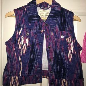 Levi's Purple Vest - worn once or twice