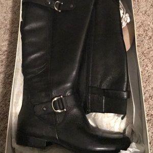 47d951788651 Naturalizer Shoes - Joylynn Black Wide Calf Naturalizer Boot Size 7.0W
