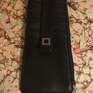 Lodis Soft Leather Credit Card Stacker NWT