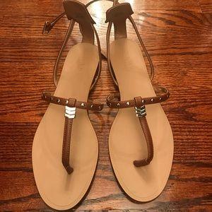 ZARA flat gladiator sandals worn once size 8.5