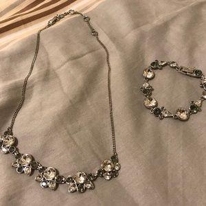 Givenchy necklace and bracelet