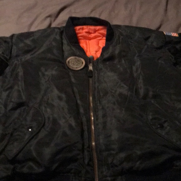 Jackets   Coats   Marines Bomber Jacket   Poshmark 47149cd30c