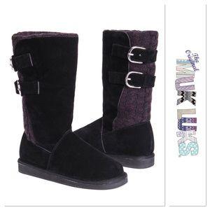 Black Muk Luks Jean Boots