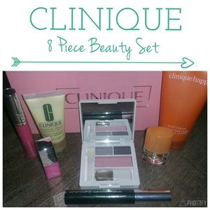 💖 CLINIQUE Makeup Bundle Happy Eyeshadow Eye Lip