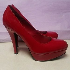 Guess Luscious Red Heels