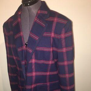 New women's Merona striped blazer plus size 18 👠