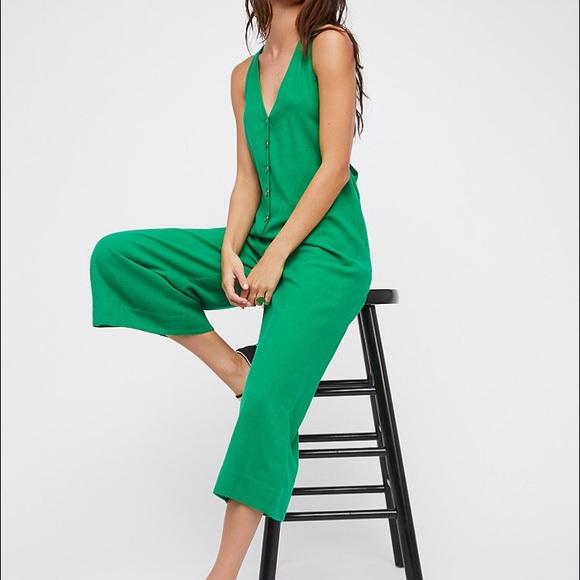 7914574a36a0 Free People Other - Free People On The Run Jumpsuit
