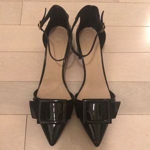 Pointed Toe Patent Leather Shoes