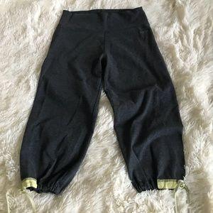 Pants - Calvin Klein Capris With Drawstring Sides