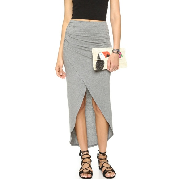 2e464d0f7 Alice & Olivia Skirts   Nwt Alice Olivia Ruched Asymetrical Skirt 6 ...