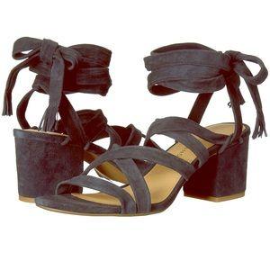 NWT Lucky Brand Idalina Block Heel Sandal
