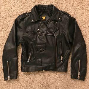 Vintage Virginia Slims Leather Jacket