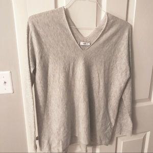 Vince grey v neck sweater