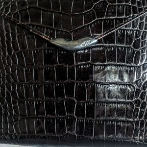 Ralph Lauren Bags - Ralph Lauren Crocodile   Sterling Silver Bag 9cb169dd3f401