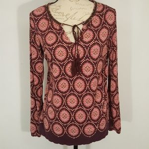 Rose & Olive Medium Rayon Top Blouse