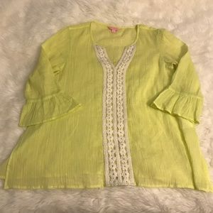 Lilly Pulitzer tunic  - size small - crinkled