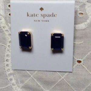 Kate Spade black stud earrings!