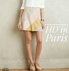 HD in Paris Catalina Suede Mini Skirt