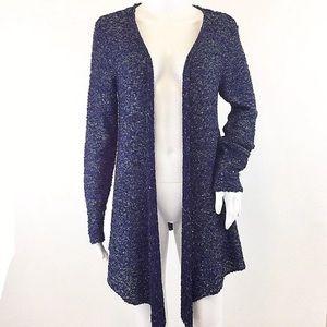 Soft surroundings Cardigan Sweater Sequin Sparkle