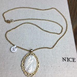 Jewelry - Virgen de Guadalupe Mother of Pearl necklace