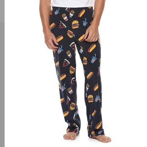 Other - Men's patterned microfleece lounge pants