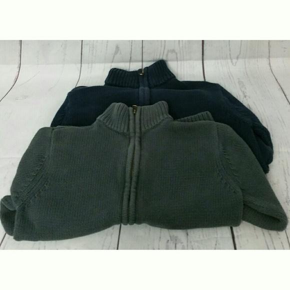 Old Navy Shirts Tops Boys Sweaters Blue Grey Large Poshmark