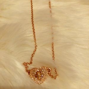 Coach Twinkling Heart Necklace