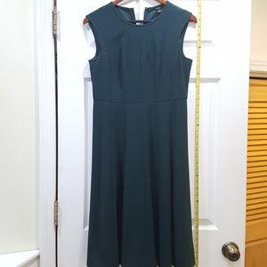 Anne Taylor green midi dress