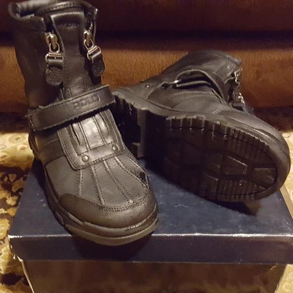 2360fb55bc8 Polo Ralph Lauren Conquest Hi II boots - Boys