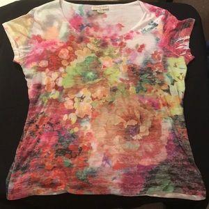 🔴 5/$25 COLDWATER CREEK short sleeved shirt