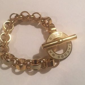 Marc by Marc jacobs toggle link gold bracelet