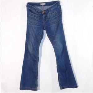 CAbi Jeans Sz 4 inseam 29 1/2 Boot Cut-Flare