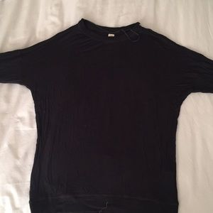 3/4 sleeve shirt from Zara with brown patches