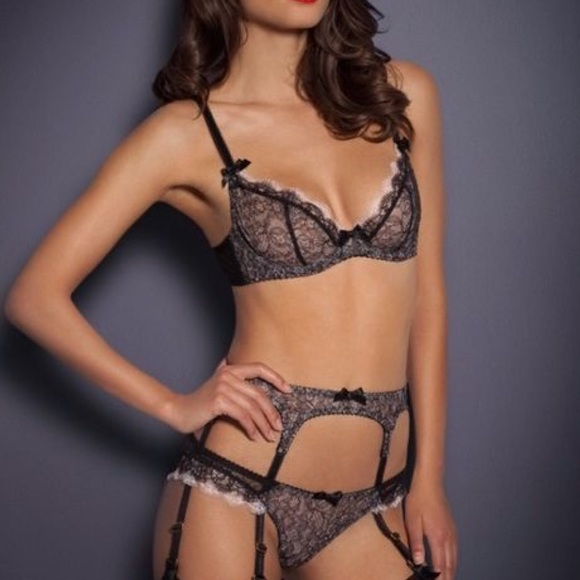 Agent Provocateur Other - Ariel bra and brief size 32C   3 brief like new 855075dc0