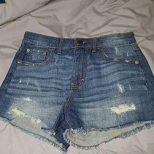 High Waisted Midi Aeropostale Shorts