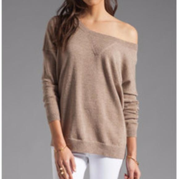 6dab0ae80d Haute Hippie Sweaters - HAUTE HIPPIE Lurex Off Shoulder Sweater Gold