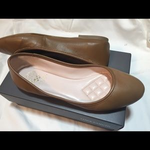 Vince Camuto new Tan Ballerina Flats Size 11