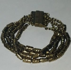 Banana Republic Gold-Tone Bead Bracelet