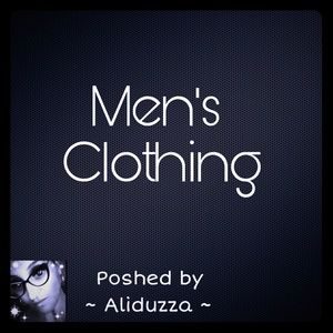 Other - MEN'S CLOTHING!!!
