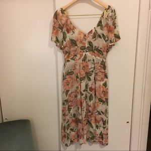 Reformation Floral Ophelia Dress