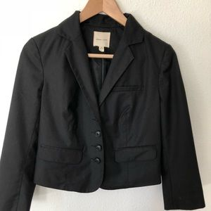 Urban outfitters Black crop jacket sz S