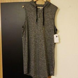 GAPFit Sleeveless Hoodie Dress
