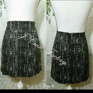 J. Crew Factory Contessa Tweed Mini Skirt Size 8
