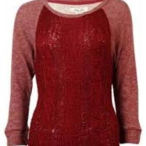 Lucky Lotus Knit Sweater