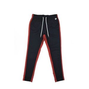 Pants - Track Pants II - Navy/Red