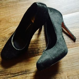 Dolce Vita Pony Hair Black Pumps Size 8.5
