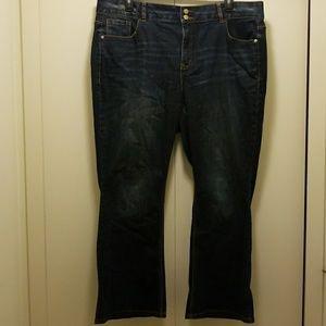 Lane Bryant Bootcut Jeans Size 22 Short