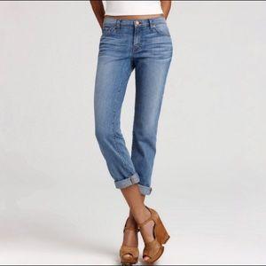J Brand 27 Caleb Skinny Boyfriend Jeans