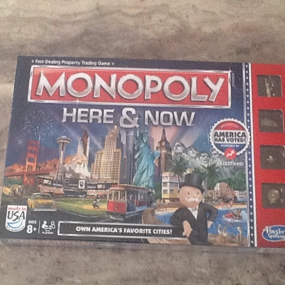 Parker Brothers/Hasbro Gaming Other - Here & Now MONOPOLY Game    NWOT