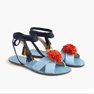 NIB Jcrew sandal size 8